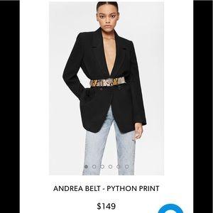 Andrea Belt - Python Print